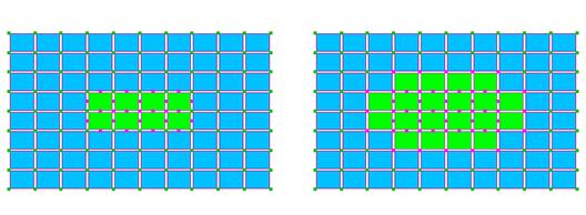 Femap20191次/2次エレメントの接続ツー/シェル/ソリッド混合