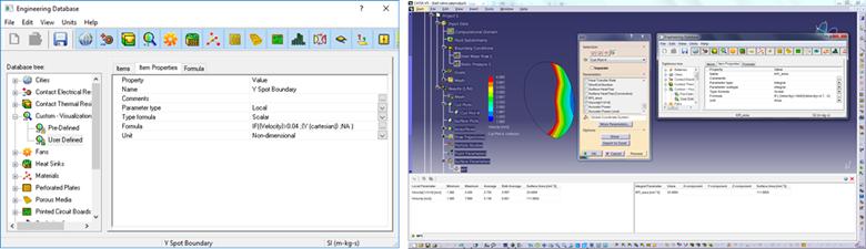 FloEFD v18機能-デザイン検証と生産性向上 視覚化パラメータ設定