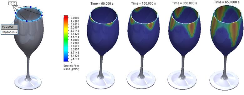 FloEFD v18機能-デザイン検証と生産性向上 水膜移動