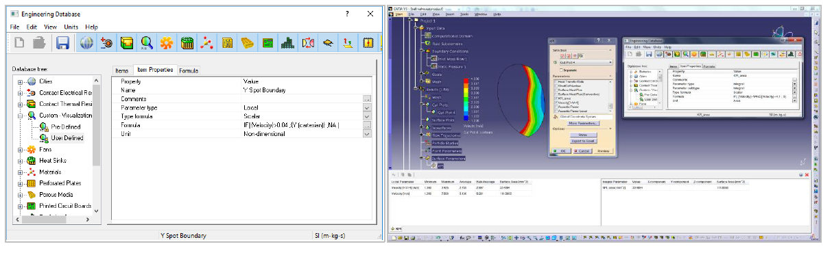 Simcenter FLOEFD 表示パラメータのカスタマイズ