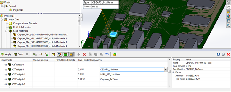 FloEFD v18機能-2R、LEDの編集